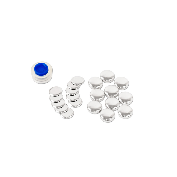16mm (Size 24) Cover Button (with Flat Backs) 10 Sets