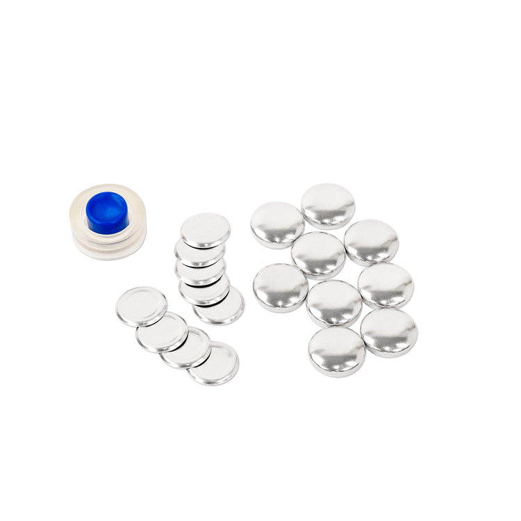 18mm (Size 30) Cover Button (with Flat Backs) 9 Sets