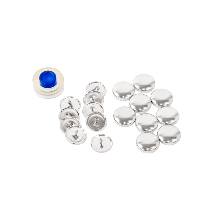 18mm (Size 30)Cover Button Kit (With Loops, Includes Tool) 9 Sets