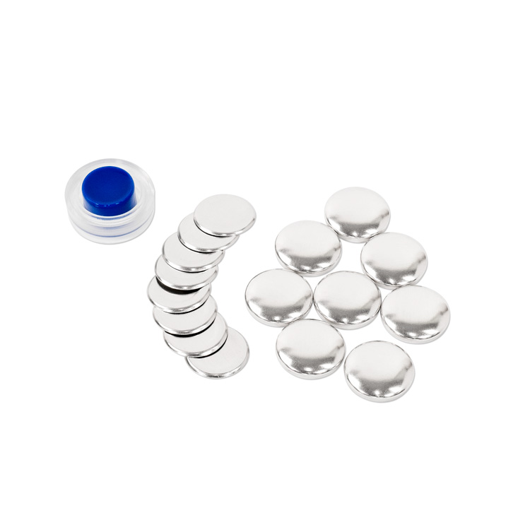 22mm (Size 36) Cover Button (with Flat Backs) 8 Sets