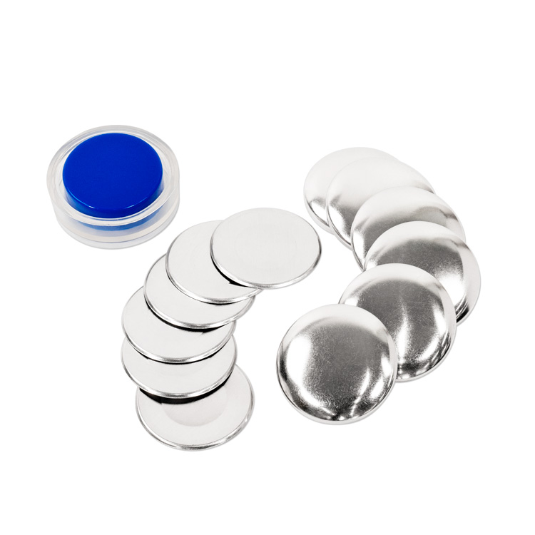38mm (Size 60) Cover Button (with Flat Backs) 6 Sets