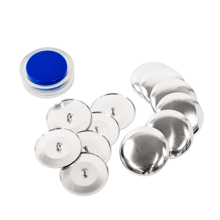 38mm (Size 60) Cover Button Kit (With Loops, Includes Tool) 6 Sets