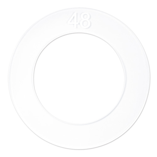 48mm (Size 75) Cover Button Template