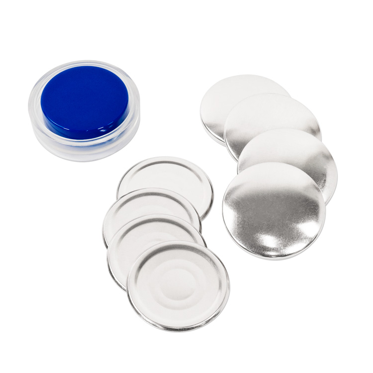 48mm (Size 75) Cover Button (with Flat Backs) 4 Sets