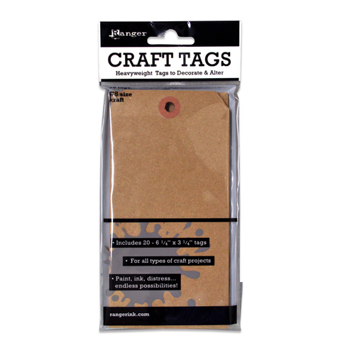 Ranger Craft Tags #8 20pc