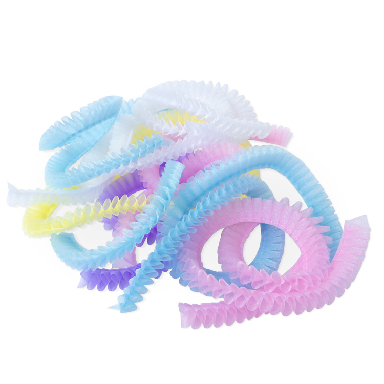 Organza 25mm [Pleated] Ribbon - Variety Bag -