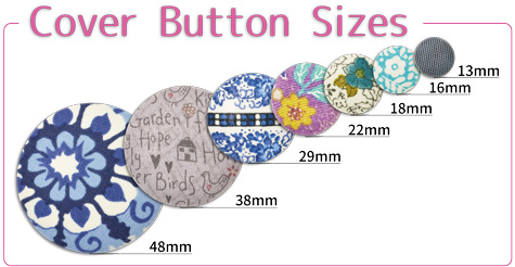 Size of Cover Buttons