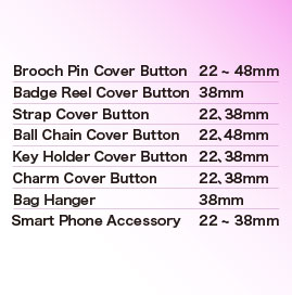 Cover Button Types